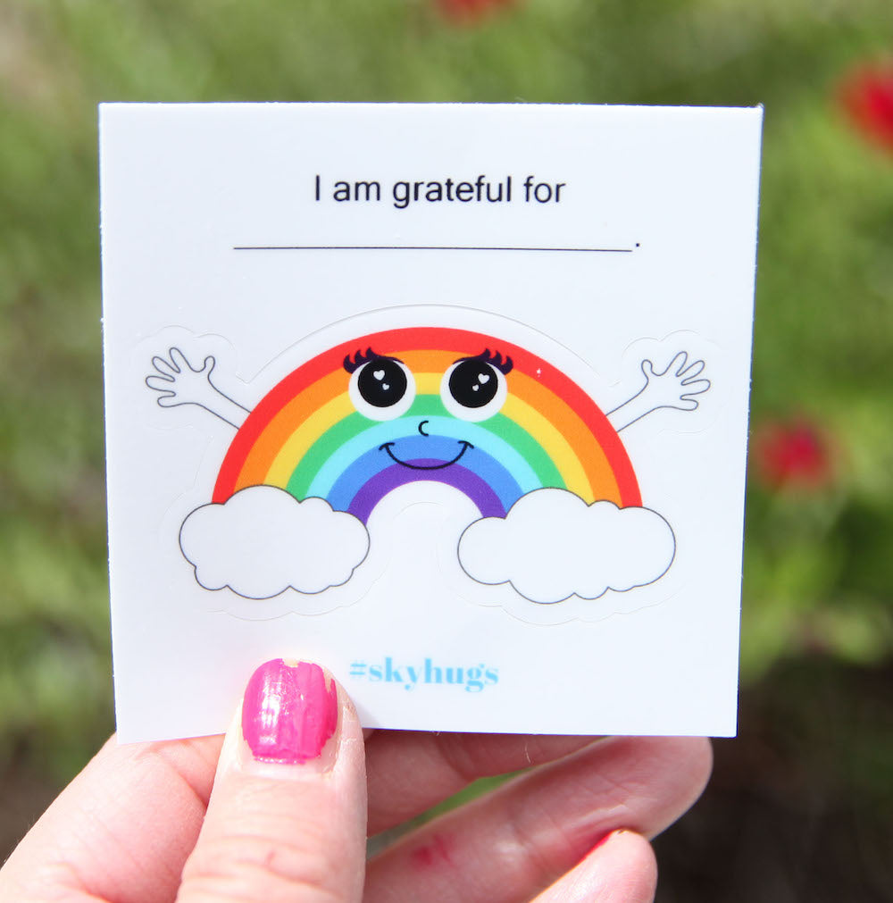 Grateful Grace - The Rainbow Sticker