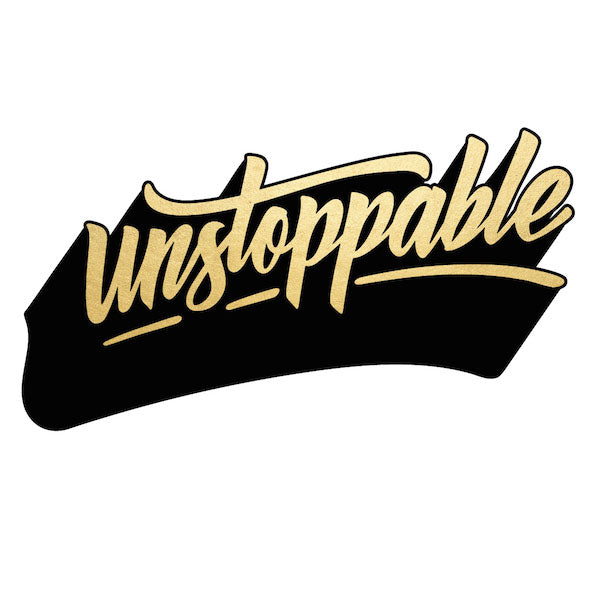 Unstoppable - Temporary Tattoo