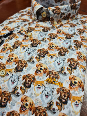 Dario Beltran Multi Dog Shirt