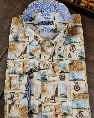 Dario Beltran Explore The Seven Seas Shirt