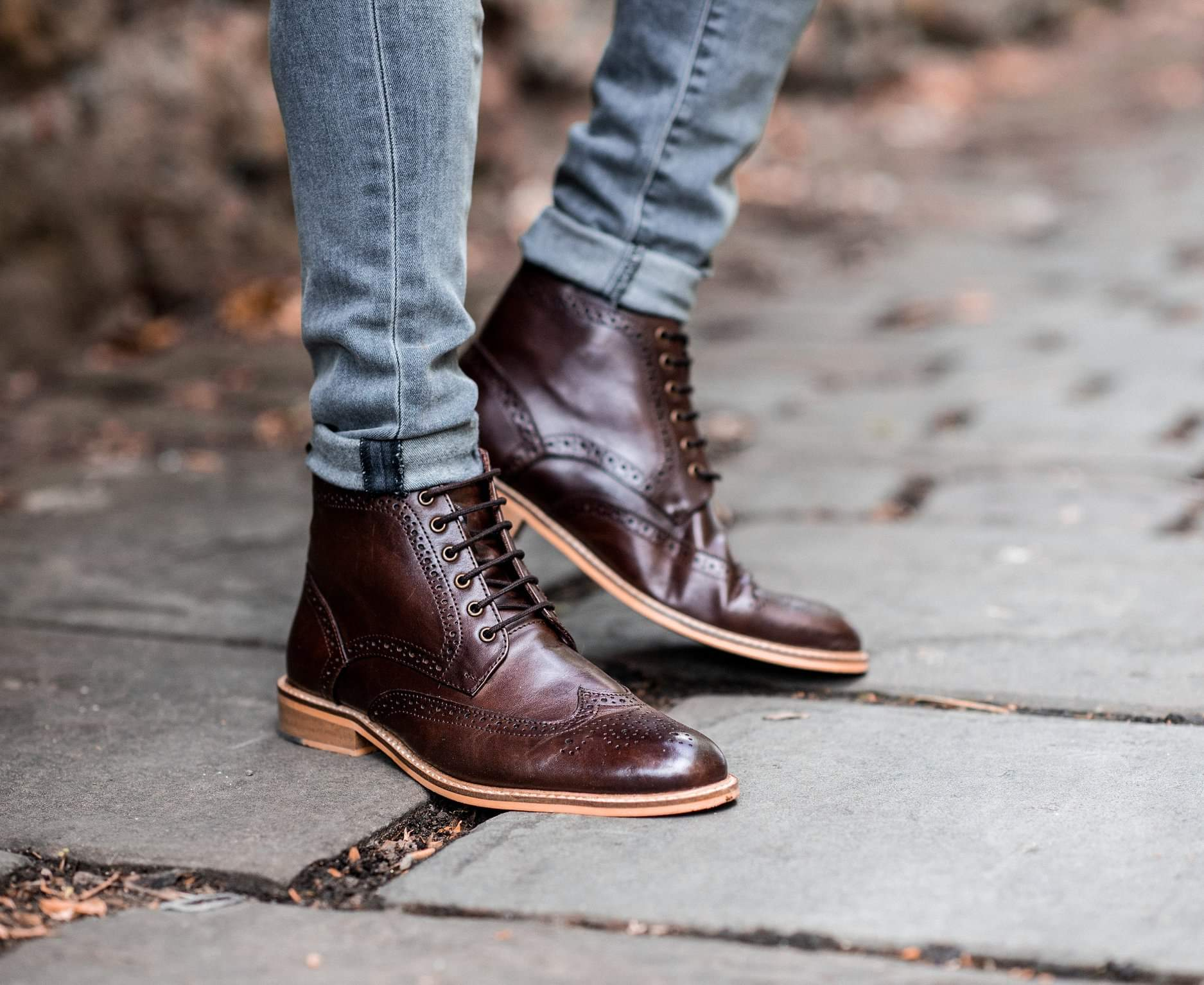 Cavani Holmes Signature Brown Leather Boots
