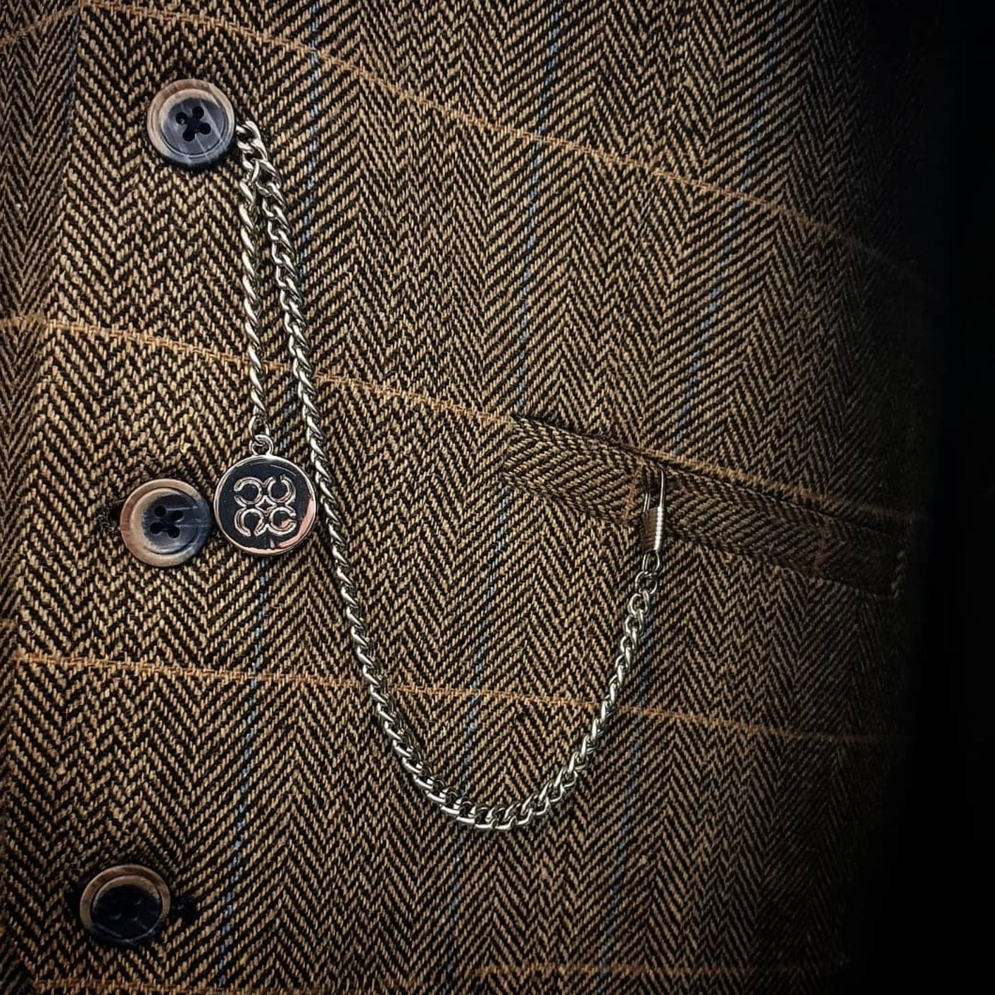 T-Bar Pocket Watch Chain - Menz Suits
