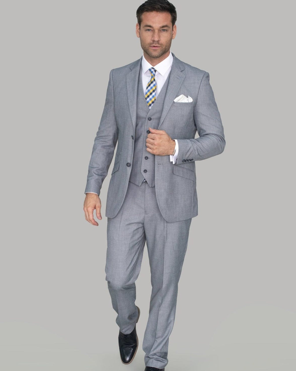 Cavani Reegan Grey Suit
