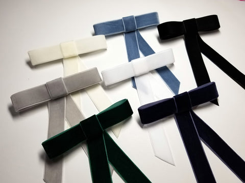 Velvet Ribbon Bows