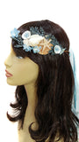 Blue Mermaid Headpiece