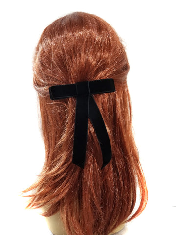 Large Velvet Ribbon Bow