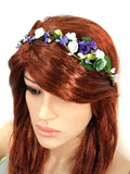Purple Whimsical Crown