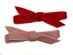 Set of 2 Twisted Velvet Bows