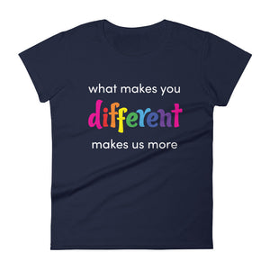 What makes you different - women's T