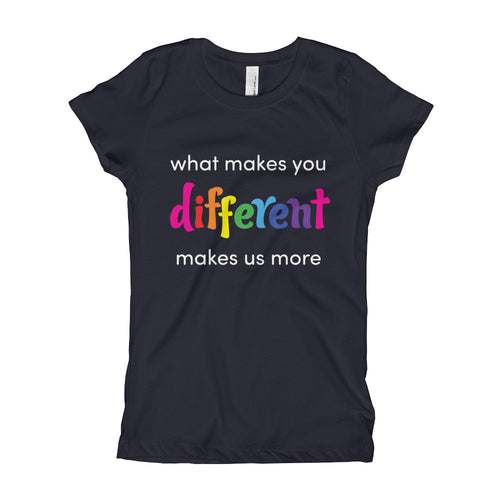 What makes you different - girl's t