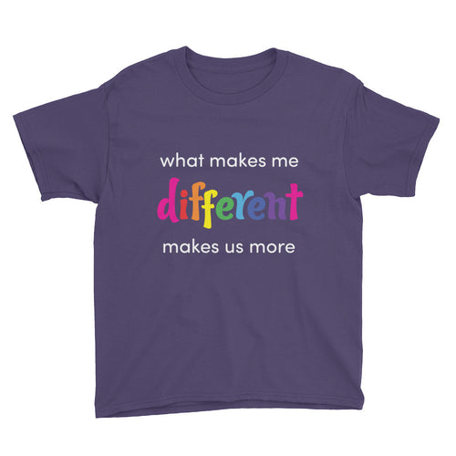 What makes me different - boy's t
