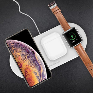 3 in 1 10W Wireless Charger Station