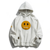 Smiley Patchwork Sweatshirt