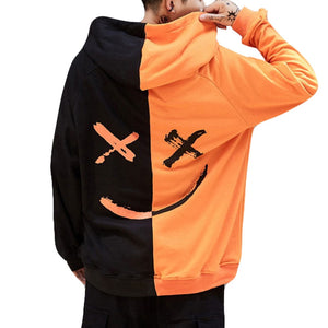Smiling Face Cotton Hoodie