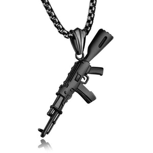 Ak-47 Chain - Black Gun Plated