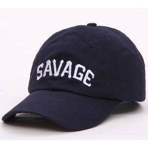 College Savage Hats - Navy