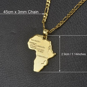 Free Africa Chain - 45cm x 3mm Chain 2