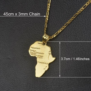 Free Africa Chain - 45cm x 3mm Chain