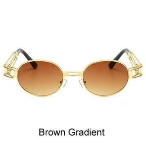 Free Bout it Glasses - Brown Gradient / Gold