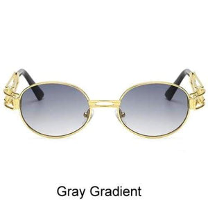 Free Bout it Glasses - Gray Gradient / Gold