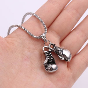 Free Boxing Gloves Pendant