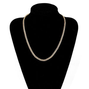 Free Gold Cuban Link Chains - 22inch
