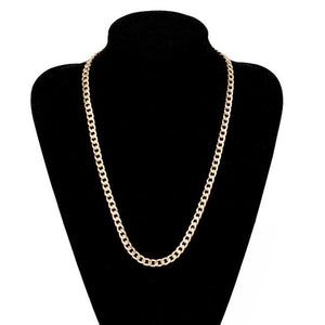 Free Gold Cuban Link Chains - 24inch
