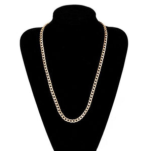 Free Gold Cuban Link Chains - 26inch