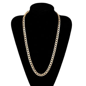 Free Gold Cuban Link Chains - 28inch