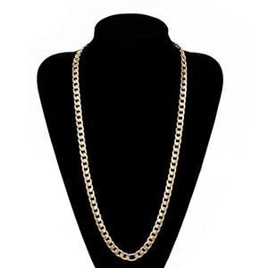 Free Gold Cuban Link Chains - 30inch