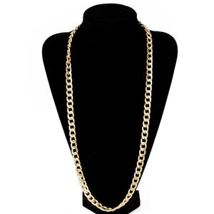 Free Gold Cuban Link Chains - 32inch