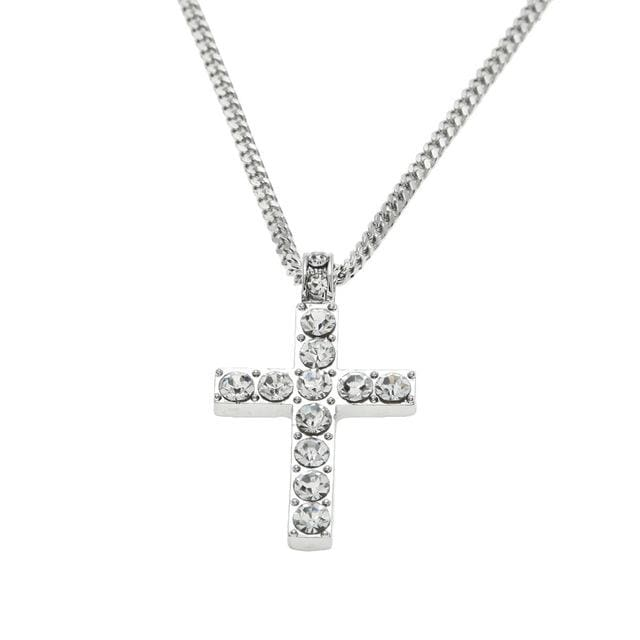 Free Iced Out Cross Chain