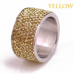 Free Iced Out Pinky Ring - 6 / Yellow / gold plated
