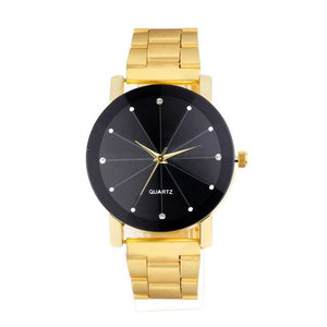 Free Multi-Colour Quartz Watch - Gold