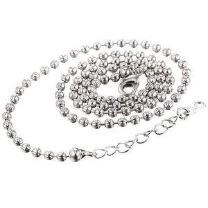 Free Multi Style Link Chains - bead chain white