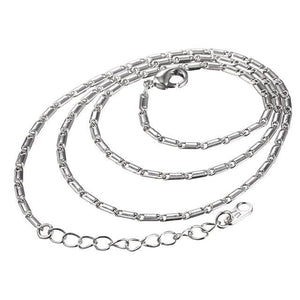 Free Multi Style Link Chains - link chain white