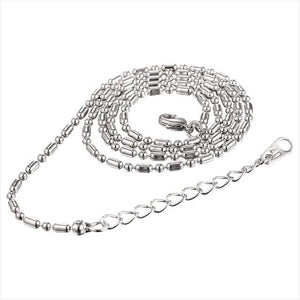 Free Multi Style Link Chains - mi bead chain white