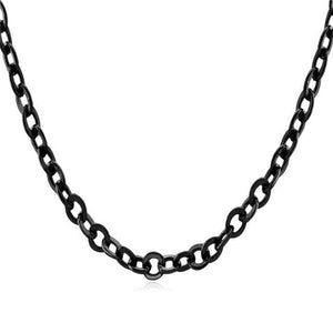 Free Multi Style Link Chains - O chain black