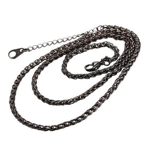 Free Multi Style Link Chains - rope chain black