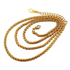 Free Multi Style Link Chains - rope chain golden