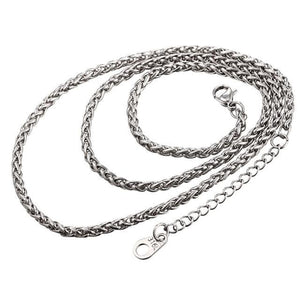 Free Multi Style Link Chains - rope chain white