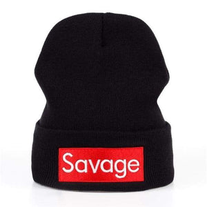 Free Savage Beanie / Hat - Black