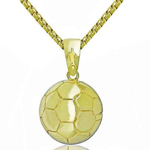 Free Sport Logo Chains (All Sports) - Gold Soccerball
