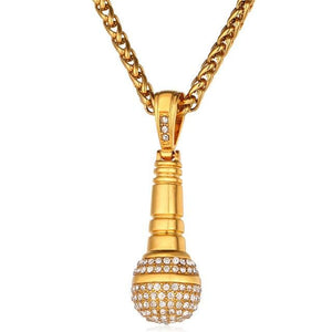 Gold Microphone Chain - Gold-color