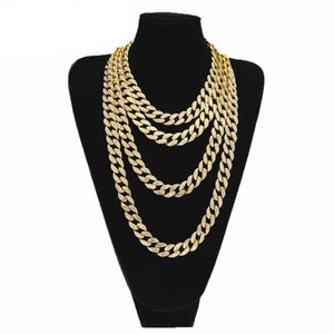 Iced out Cuban Link Chains in all sizes