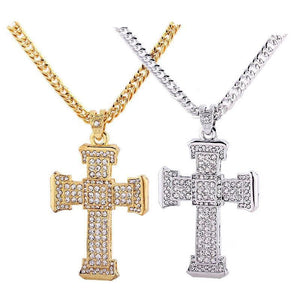 Iced out Royalty Cross