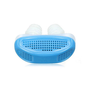 No MORE Snoring with our Anti Snoring Device - Blue / no with box