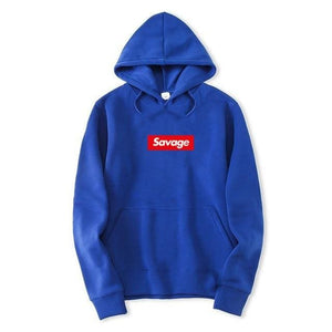Savage Hoodies - Royal Blue / M - Hoodies & Sweatshirts