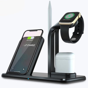Wireless 3 in 1 Holder Stand Charger