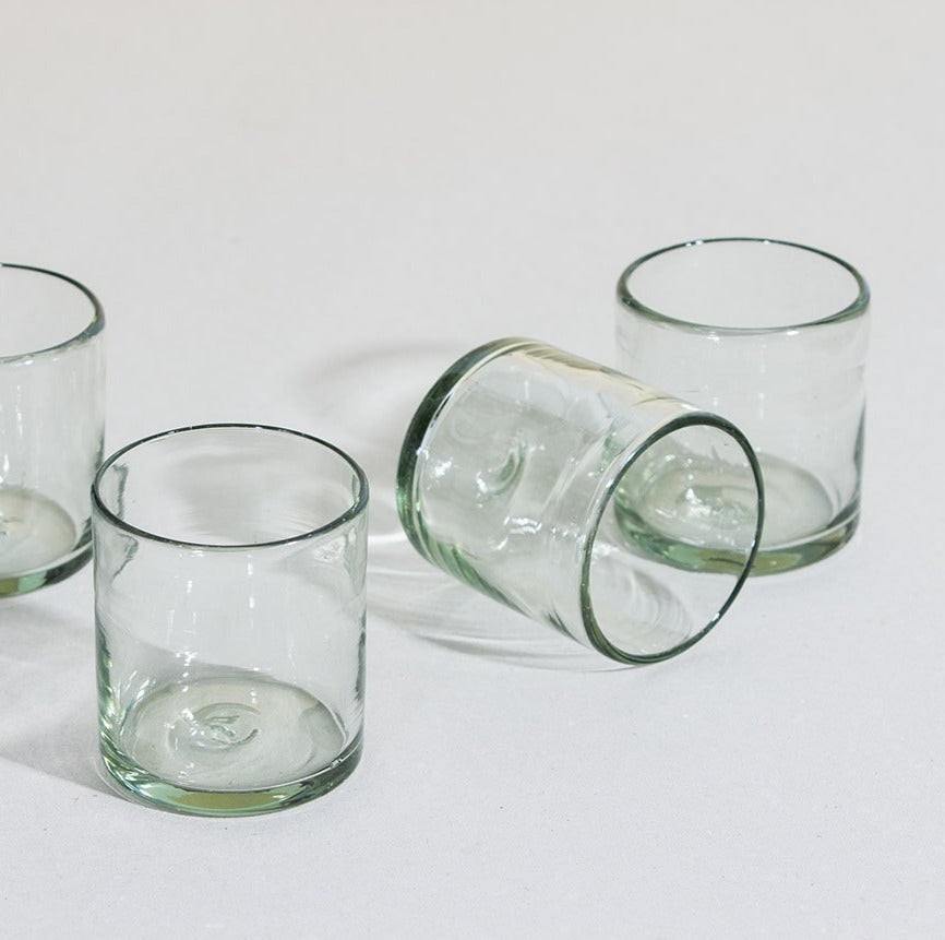 Set de 4 Vasos Old Fashioned Transparente